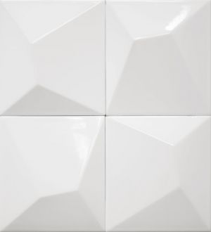 Vertex Line White 15x15
