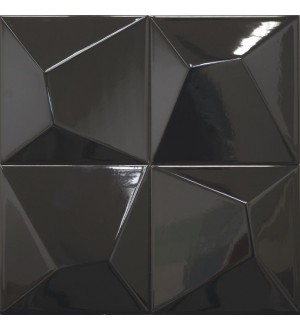 Vertex Line Black 15x15